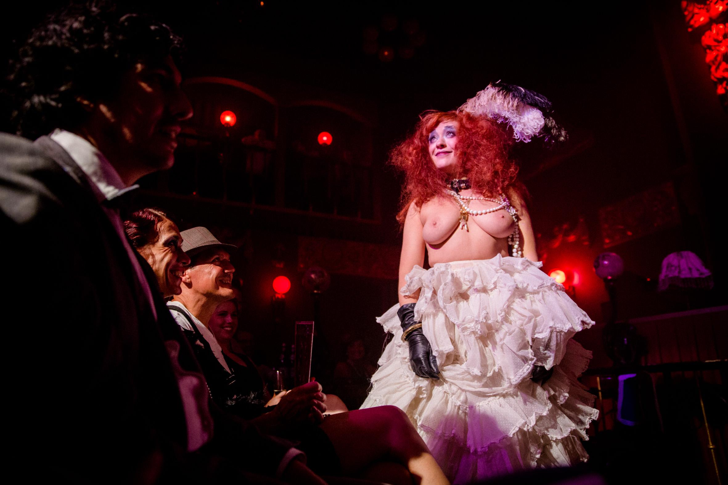 Le Pustra, Kabarett der Namenlosen, Berlin, Else Edelstahl, Ballhaus, Burlesque Fotograf, 20er Jahre, Eventfotos, Daggi Binder
