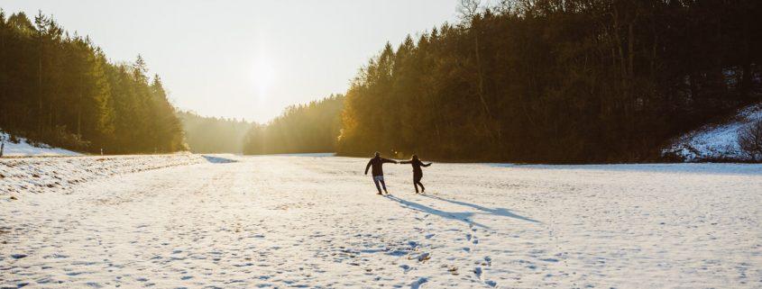 Engagement Shooting im Winter, maizucker, Hochzeitsfotografin Daggi Binder, Heiraten 2017