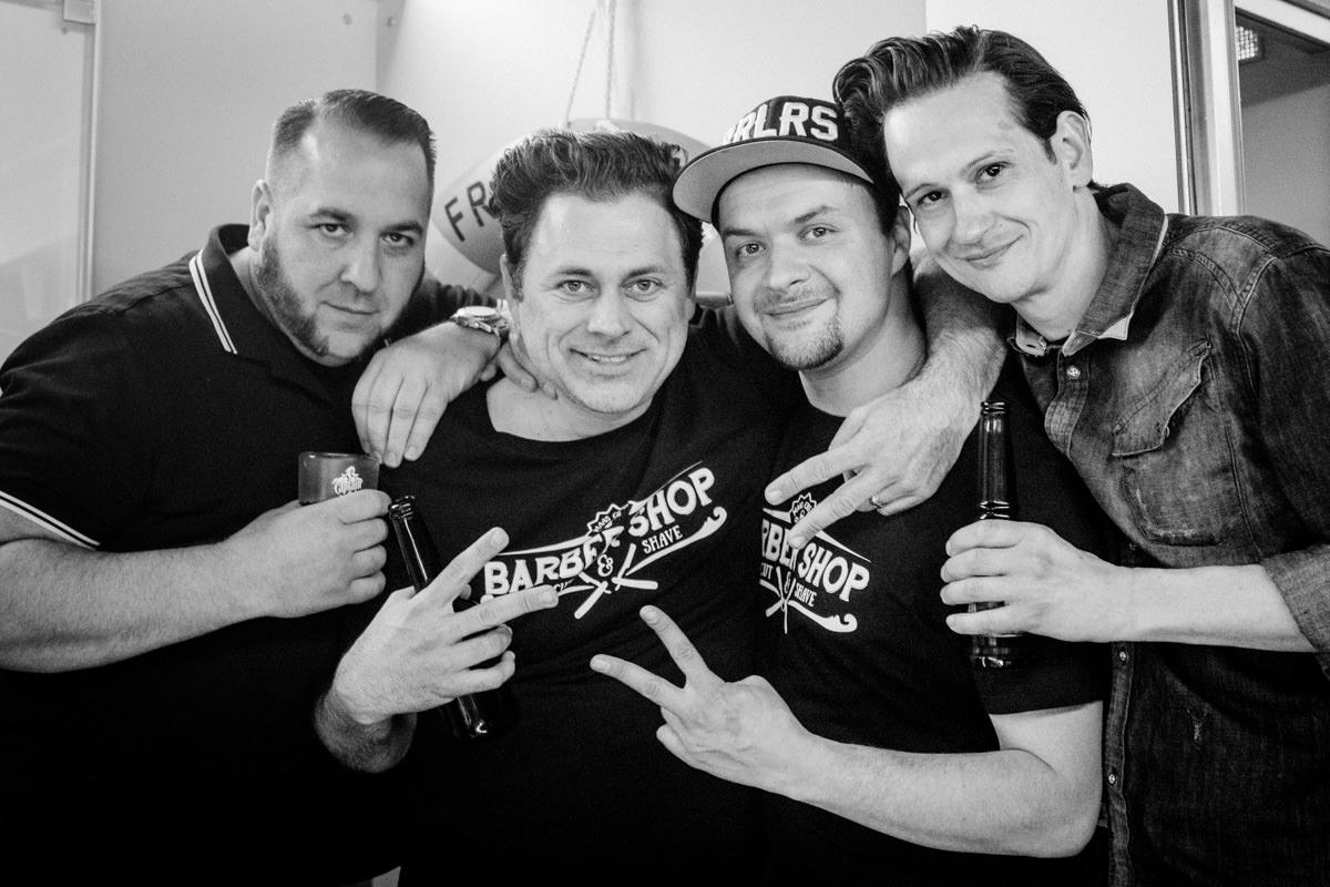 Event - Partyboot mit Barbershop Maas und Surf In, Eventfotografin Daggi Binder, maizucker