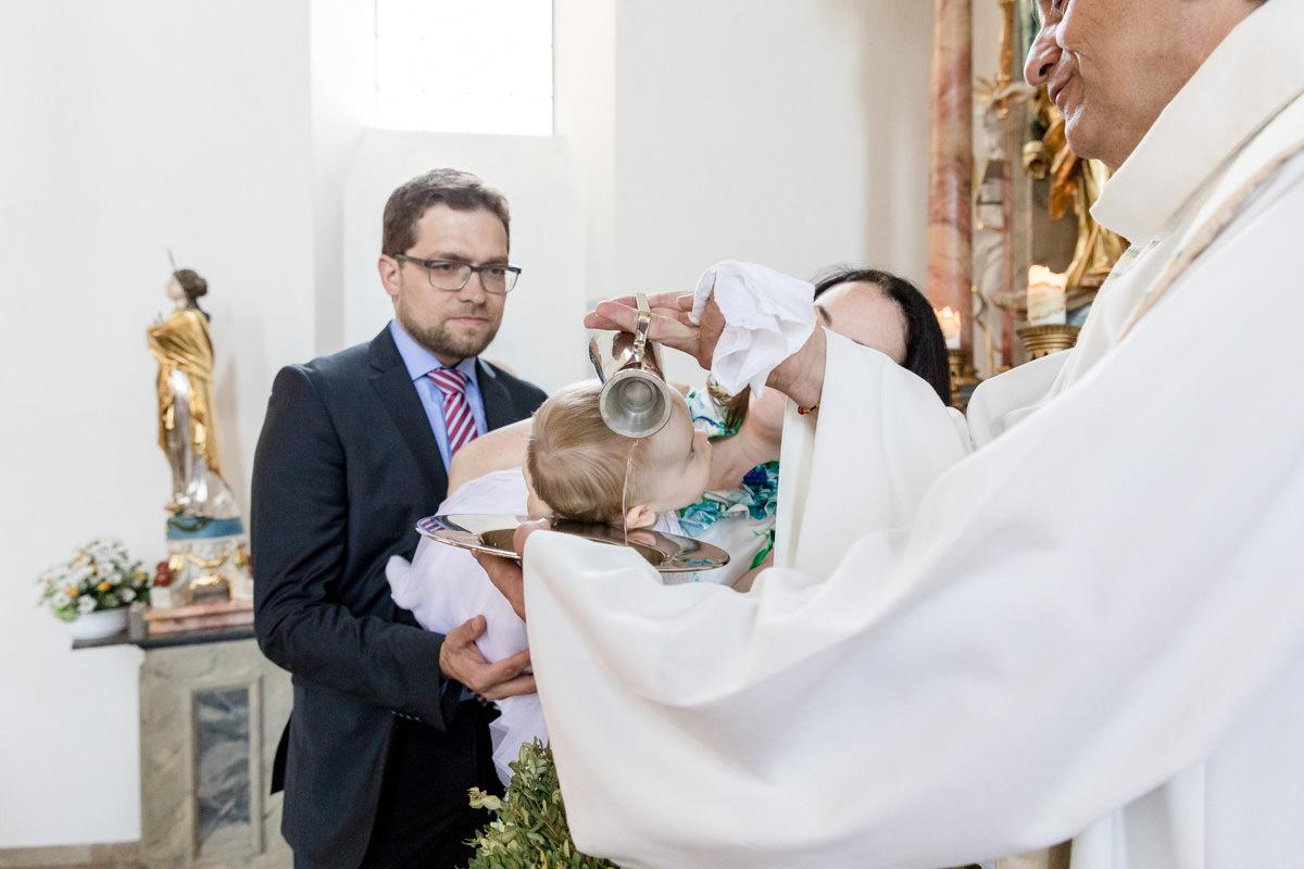 Taufe in Hohenroth, Portraitfotografin Daggi Binder, maizucker