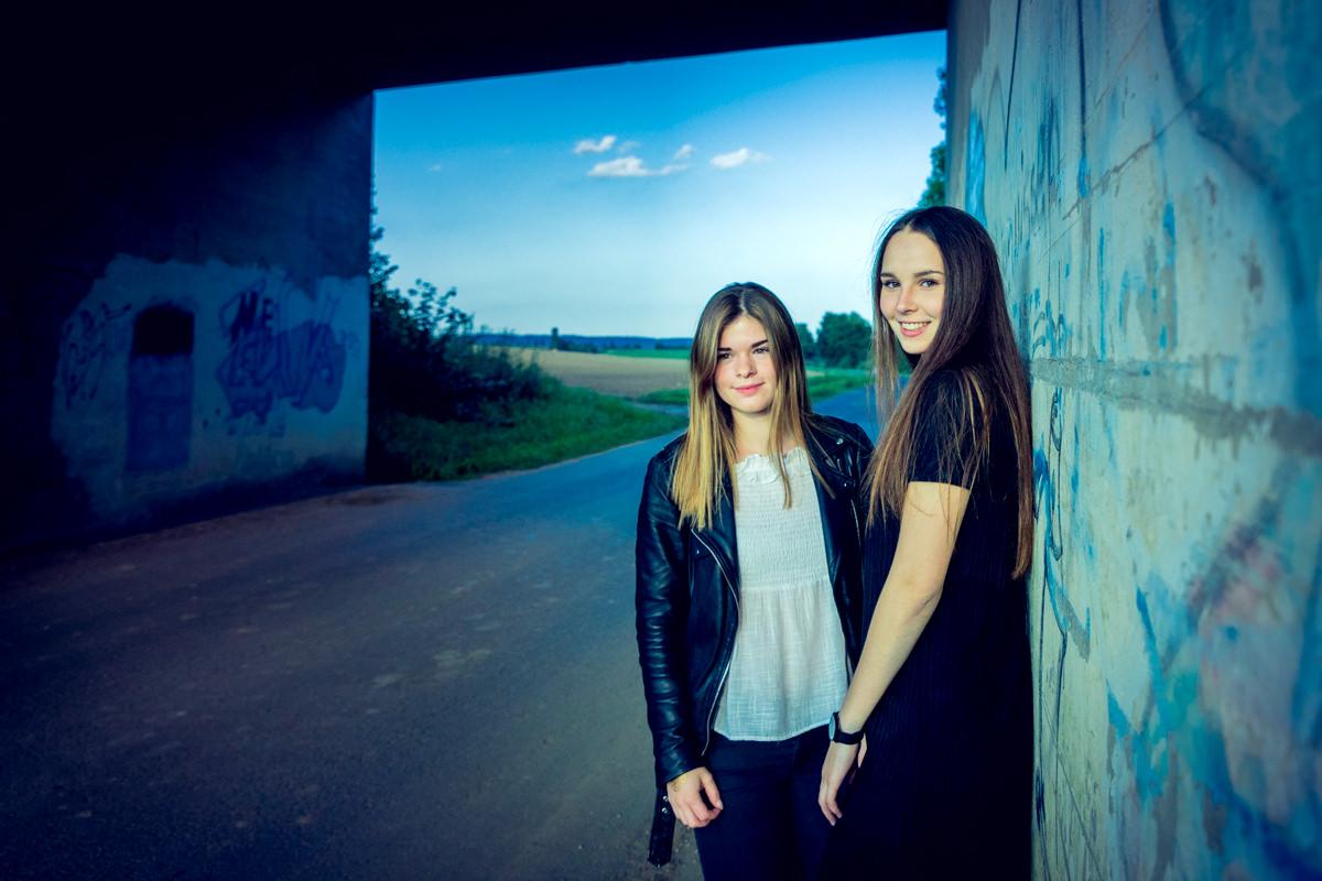 BFF Shooting, Best Friends Forever Shooting, Freunde, Beste Freundinnen Shooting, Fotograf Wiesentheid, Fotograf Kitzingen