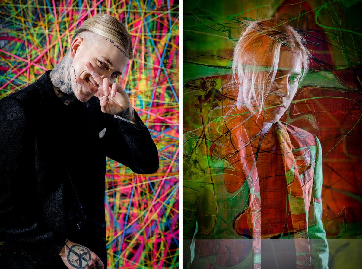 Social Media Fotos, Artist, Kuenstler, Theemotionartist, München, Portraits, Studio, Alexander Höller, Englischer Garten, Künstlerportraits